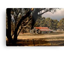 Old Shedding Lexton Victoria Metal Print