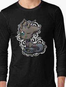 Zodiac Cats - Capricorn Long Sleeve T-Shirt