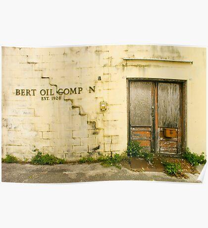 Bert Oil Co Poster