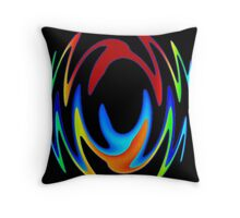 Dance In Color Throw Pillow