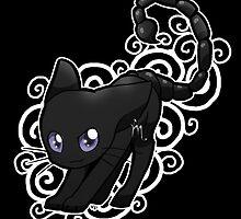 Zodiac Cats - Scorpio by OddworldArt