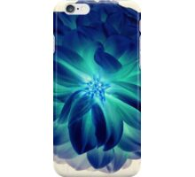 Bright Blue Summer Flower iPhone Case/Skin