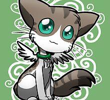 Zodiac Cats - Virgo by OddworldArt