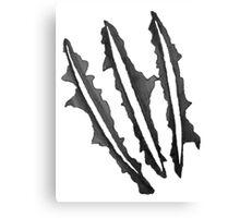 wolverine claws Canvas Print