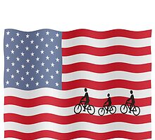 Cycling USA by funkyworm