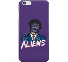 BECAUSE ALIENS iPhone Case/Skin