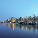 Vancouver skyline & marina by alexschwab