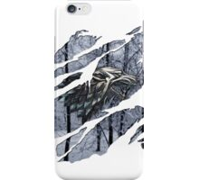 Stark house sigil winter ripped iPhone Case/Skin