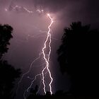 Lightning show- Kalgoorlie, Western Australia by Ashli Zis