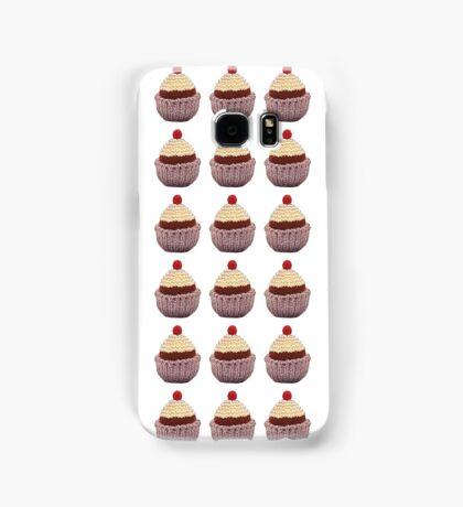 Knitted Cupcake Samsung Galaxy Case/Skin