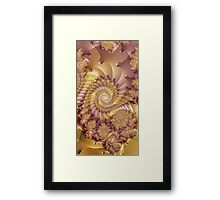 autumngirl Image3- Exquisite Sepia + Parameter Framed Print