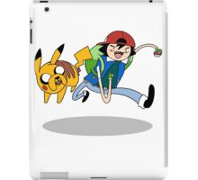 Pokemon Adventure Time iPad Case/Skin