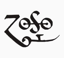 Led Zeppelin Jimmy Page Zoso by lamusica