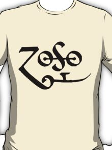 Led Zeppelin Jimmy Page Zoso T-Shirt