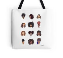 How To Be Curly Tote Bag