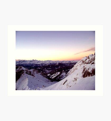 Swiss Delight (Part Deux) Art Print