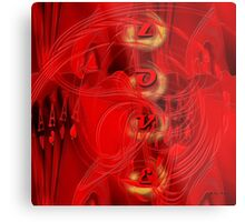 Love is more than just a game for two - Abstract  Art + Products Design  Metal Print