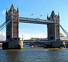 Tower Bridge by Al Bourassa