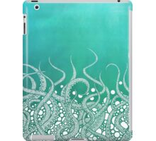Turquoise Tentacles iPad Case/Skin