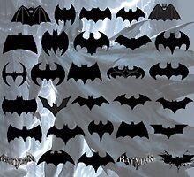evolution of batman logos by sanguine16