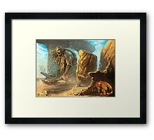 Out of Sight Framed Print