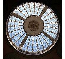 Berrington Hall, Circular Skydome Photographic Print