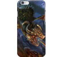 Hellish Earthquake  ©2015 MicheleGiorgi iPhone Case/Skin
