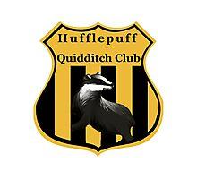 Hufflepuff Quidditch Club Crest Photographic Print