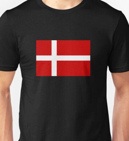 Flag of Denmark Unisex T-Shirt