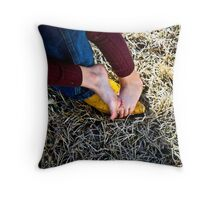 Intertwined - A Father and Daughter Throw Pillow