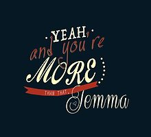 FitzSimmons - Yeah, you're more than that, Jemma by LaAngol