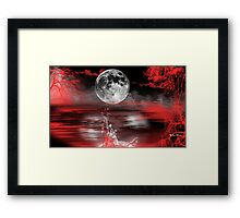 Sea of Love-abstract+Products Design Framed Print