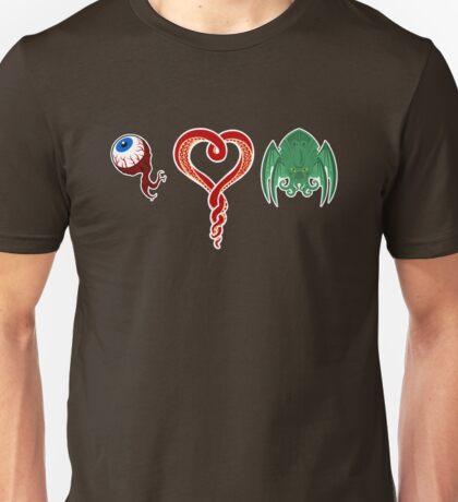 I Love CTHULHU Unisex T-Shirt