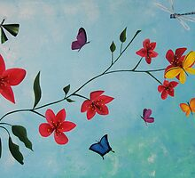Butterflies, Life & Hope by Kristy Spring-Brown