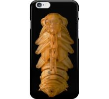 Pupa of Darkling Beetle Zophobas morio iPhone Case/Skin