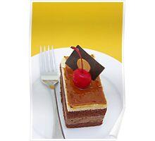 Chocolate Coffee Cake Poster