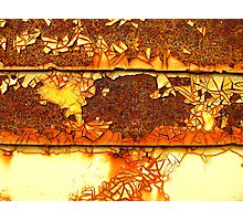 Rusting Away the Time Photographic Print