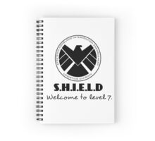 S.H.I.E.L.D- welcome to level 7 Spiral Notebook