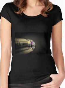 Biro Pen Women's Fitted Scoop T-Shirt