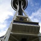 Seattle Space Needle by SilverLilyMoon