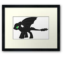 MLP Toothless Framed Print