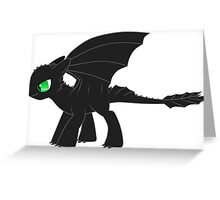 MLP Toothless Greeting Card