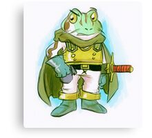 Frog - Chrono Trigger Canvas Print