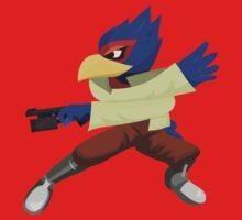 Falco - Super Smash Brothers Melee Nintendo Kids Tee