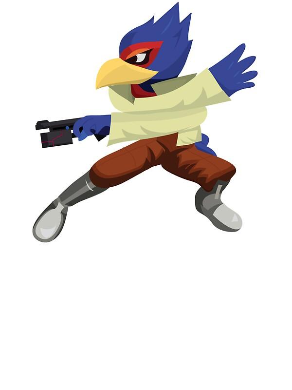 """Falco - Super Smash Brothers - 32.8KB"
