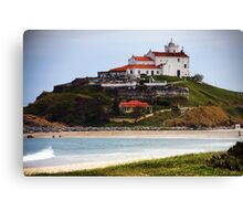 Saquarema's Church - Beach - Brazil Canvas Print
