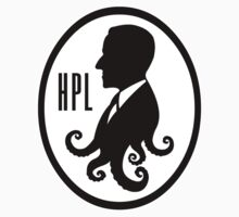 Howard Phillips Lovecraft silhouette by togin