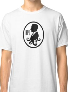 Howard Phillips Lovecraft silhouette Classic T-Shirt
