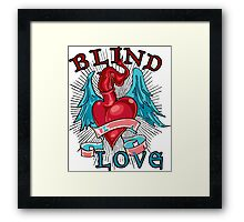 Blind Love Framed Print