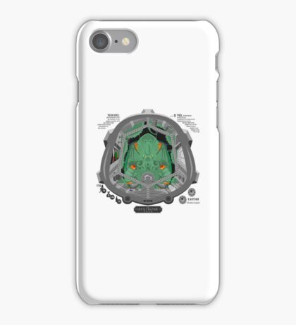 Piloted by CTHULHU iPhone Case/Skin